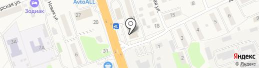 Магазин канцелярских товаров на карте Октябрьского