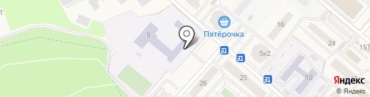 Островецкая средняя общеобразовательная школа на карте Островцев