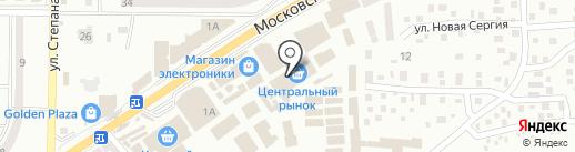 Стекломастер, салон окон, дверей и резки стекла на карте Макеевки