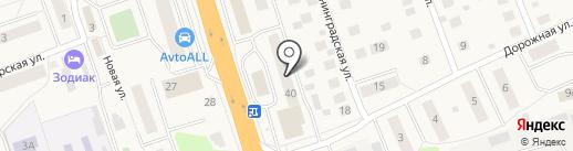 Волшебный узелочек на карте Октябрьского