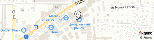 GLAMOUR на карте Макеевки