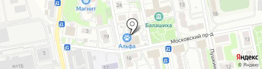 ЮрЦентр на карте Балашихи