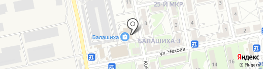 Souffle на карте Балашихи
