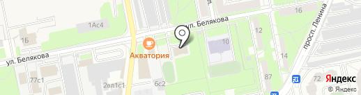 Титан на карте Балашихи