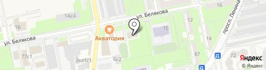 Балашихинский Клуб Такемусу Айкидо на карте Балашихи