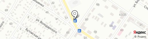 Перекресток на карте Макеевки
