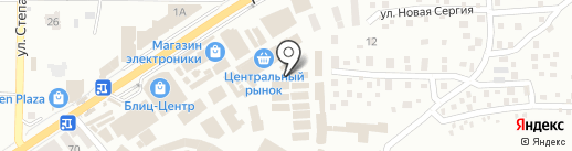 Поле чудес на карте Макеевки