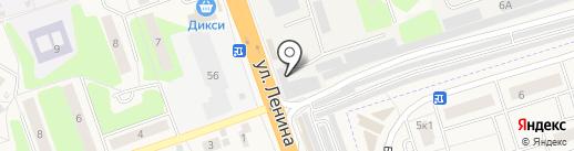 Пункт приема металлолома на карте Октябрьского