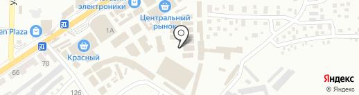 Тюль на карте Макеевки