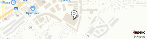 Магазин верхней одежды на карте Макеевки