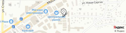 Магазин мужской одежды на Московской (Центрально-Городской) на карте Макеевки