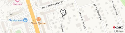 Жар-птица на карте Октябрьского