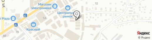 Изумрудный город на карте Макеевки