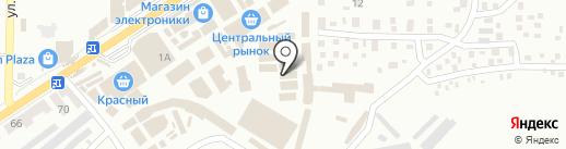 Башмачок на карте Макеевки