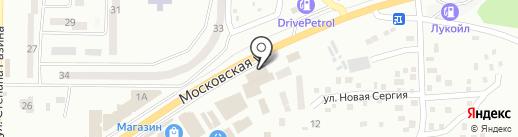 Либерти на карте Макеевки