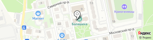 Beauty kids на карте Балашихи