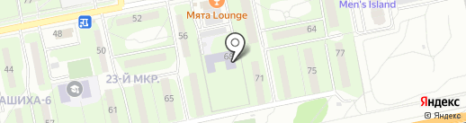 Детский сад №9, Родничок на карте Балашихи