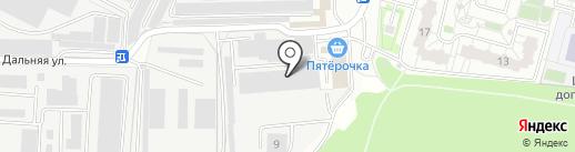 Желдор Ковка на карте Балашихи