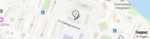 М-лик на карте Красково