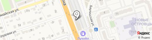 Автомойка на карте Октябрьского