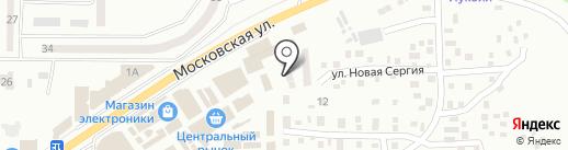 Ветеринарный киоск плюс на карте Макеевки