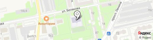 Динамо на карте Балашихи
