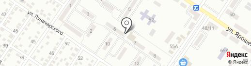Магазин стройматериалов на карте Макеевки