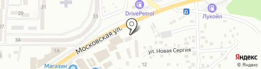 Санкер на карте Макеевки