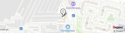 АвтоЛюкс на карте Железнодорожного