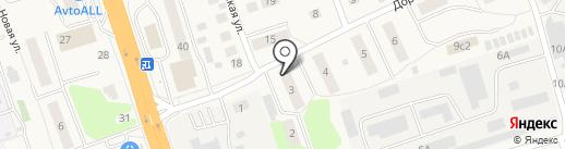 Василек на карте Октябрьского
