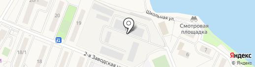Мелограно декор на карте Красково
