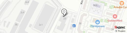 МОСОБЛЭНЕРГОГАЗ, ЗАО на карте Балашихи