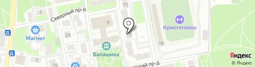 Семейная на карте Балашихи