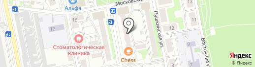 Балашихинский отдел Управления Федеральной службы государственной регистрации на карте Балашихи
