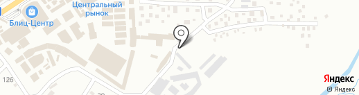 Автостоянка на карте Макеевки
