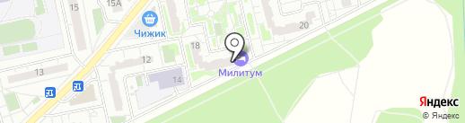 Амвэй на карте Балашихи