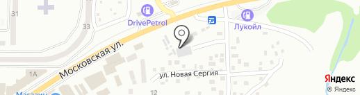 Міст Експрес на карте Макеевки