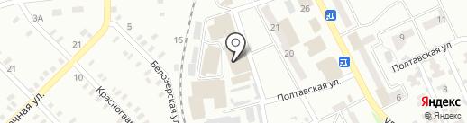 Бакалейный магазин на карте Макеевки