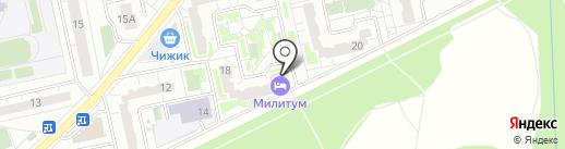 Усадьба на Запрудной на карте Балашихи
