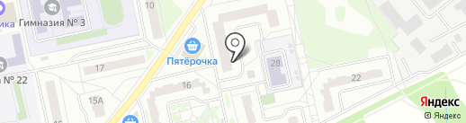 АльТур на карте Балашихи