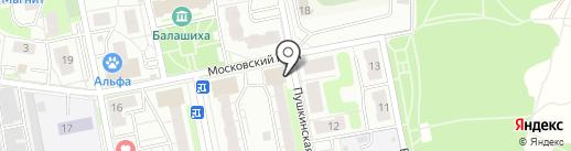 Криосервис на карте Балашихи