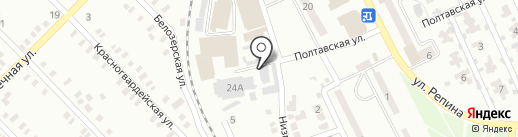 Гермес на карте Макеевки