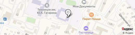 Гимназия №56 на карте Красково