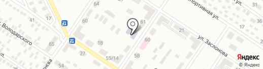 Детский сад №54 на карте Макеевки