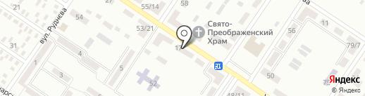 Амбулатория №4 на карте Макеевки