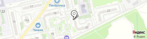 Компьютерный сервис на карте Балашихи