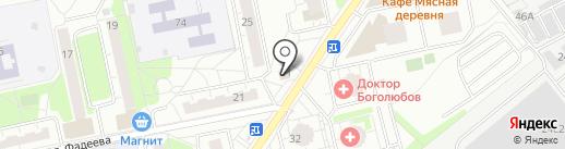 Глория на карте Балашихи