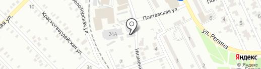 Арендная компания, СПД Капунов Н.А. на карте Макеевки
