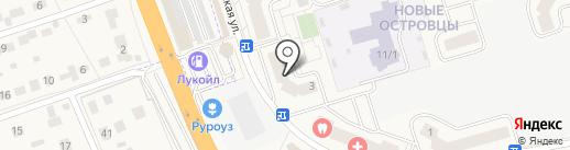Новые Островцы на карте Островцев