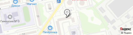 Дэнфарм на карте Балашихи